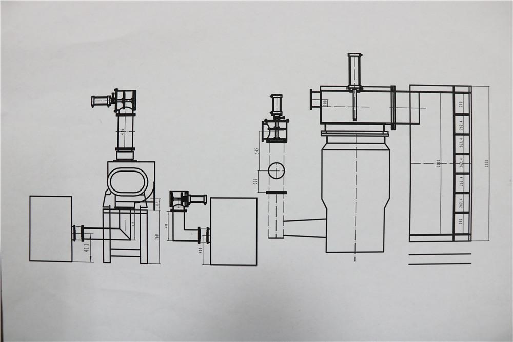 Poly arc ion vacuum coating machine