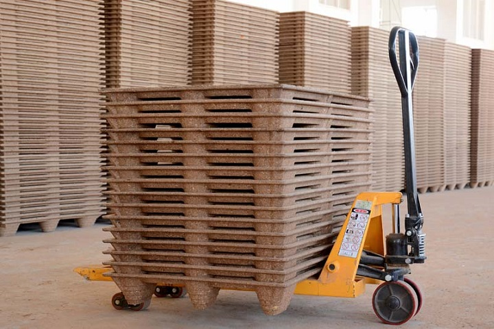 pressed wood pallets manufacturer