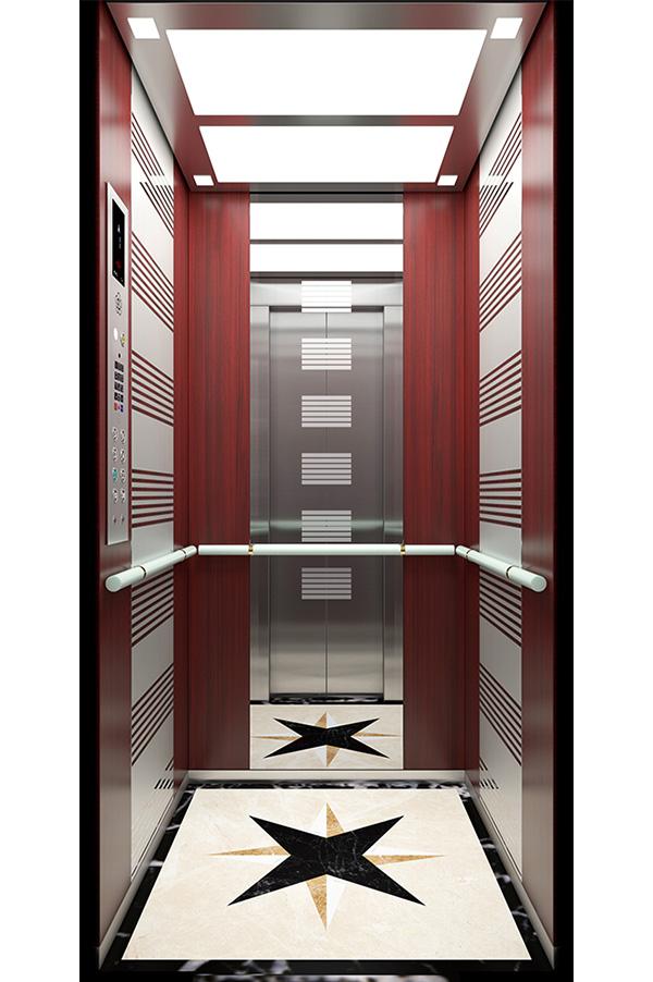 Acrylic Handrail Home Elevator