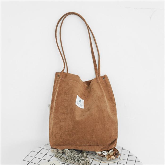 Casual Solid Color Shoulder Bag