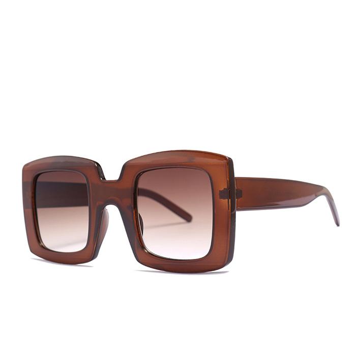 Unisex Square Sunglasses