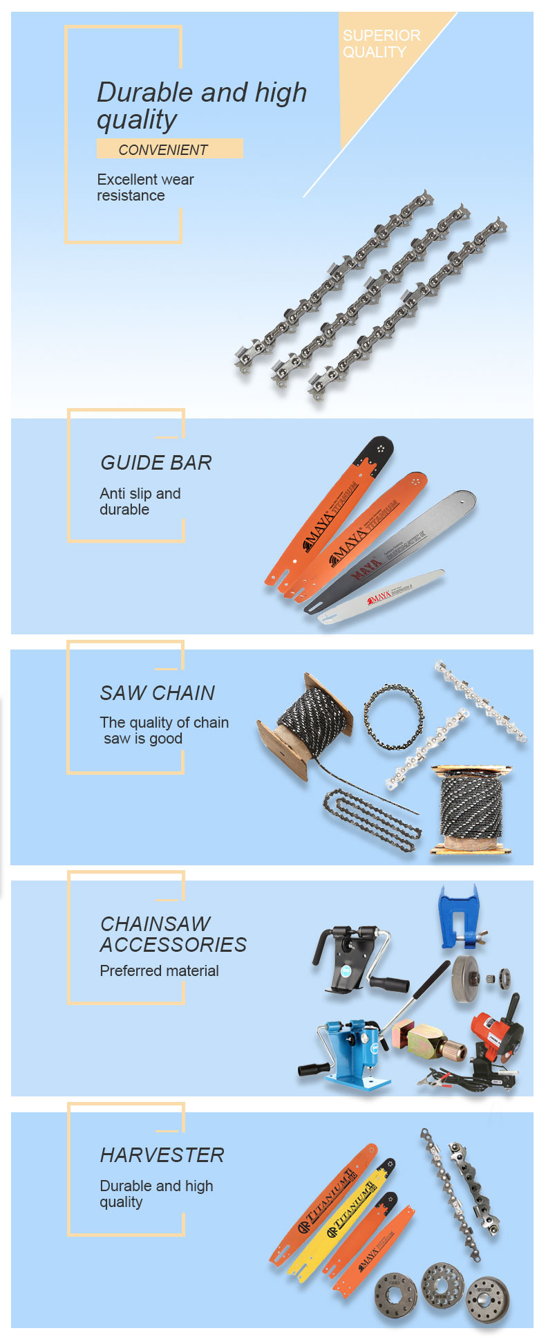 full-chisel saw chain Manufacturers