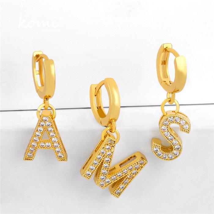 26 Letter Dangle Earrings