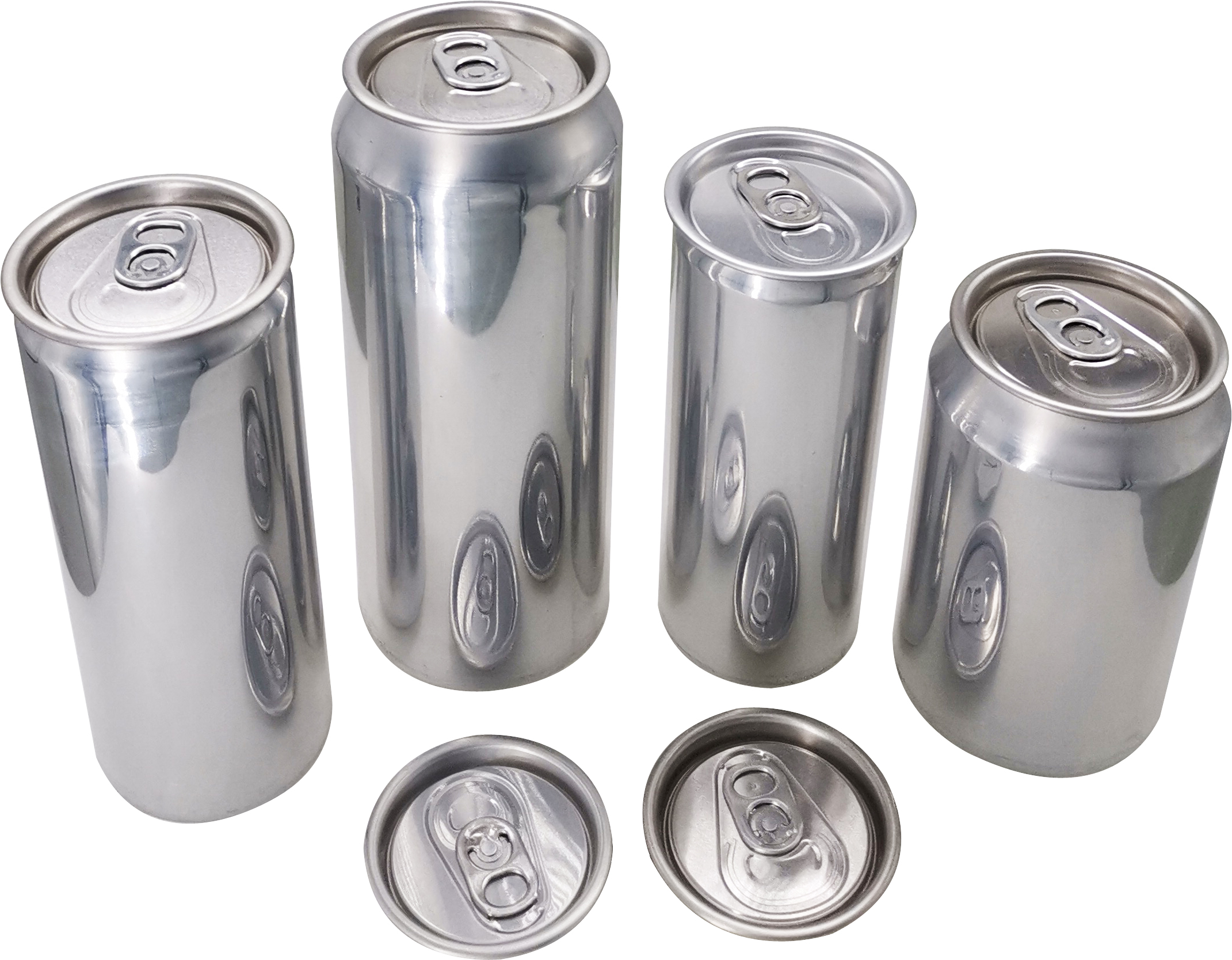 sealed metal containers