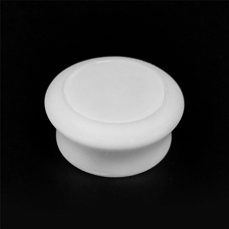Bright pvd chrome surface finish ABS plastic injection top bottle cap