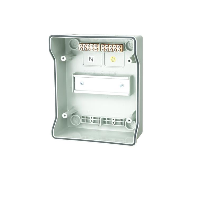 9 way IP65 Electrical Power Panel Distribution Box