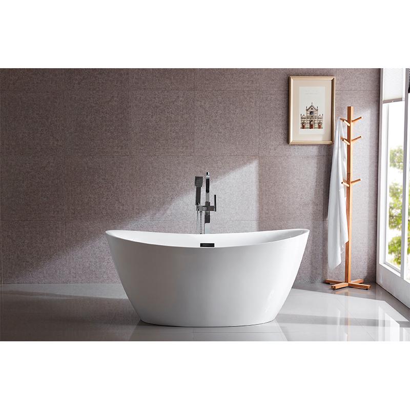 55 inch freestanding bathtub