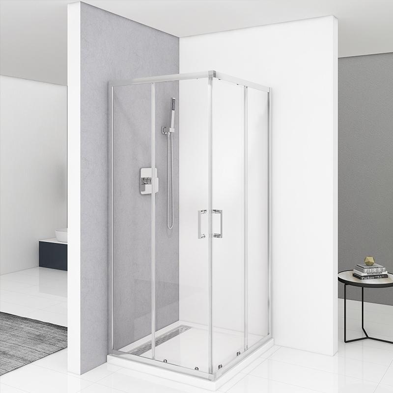 small shower enclosure