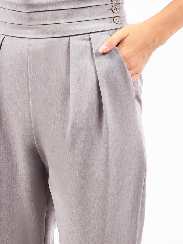 Pleat Waistband Trousers