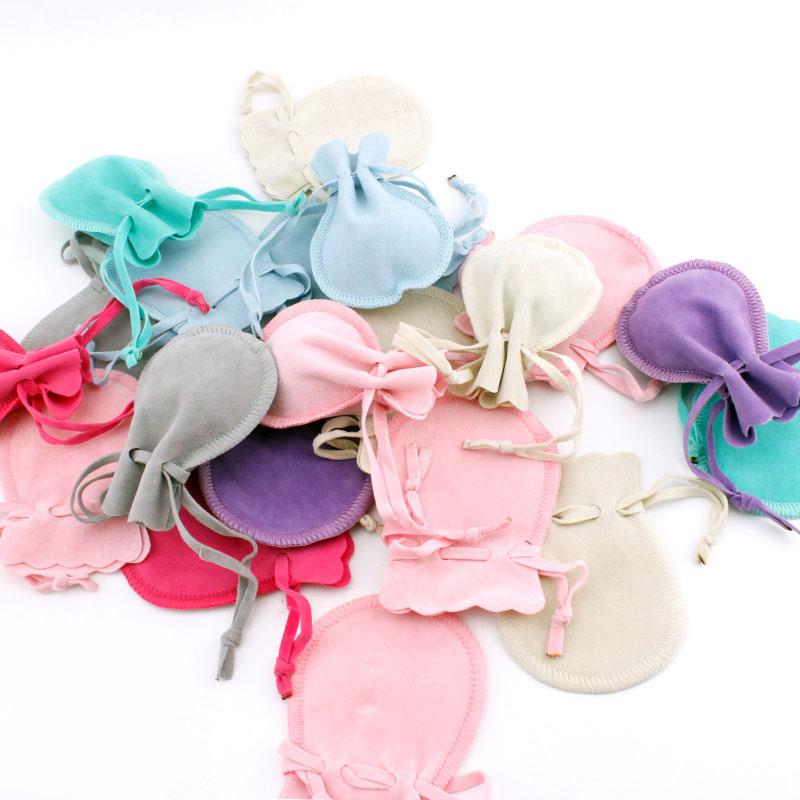 Velvet fabric gift bag