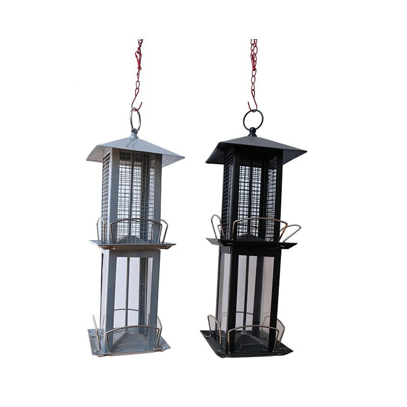 Hanged metal bird feeder pet supplies