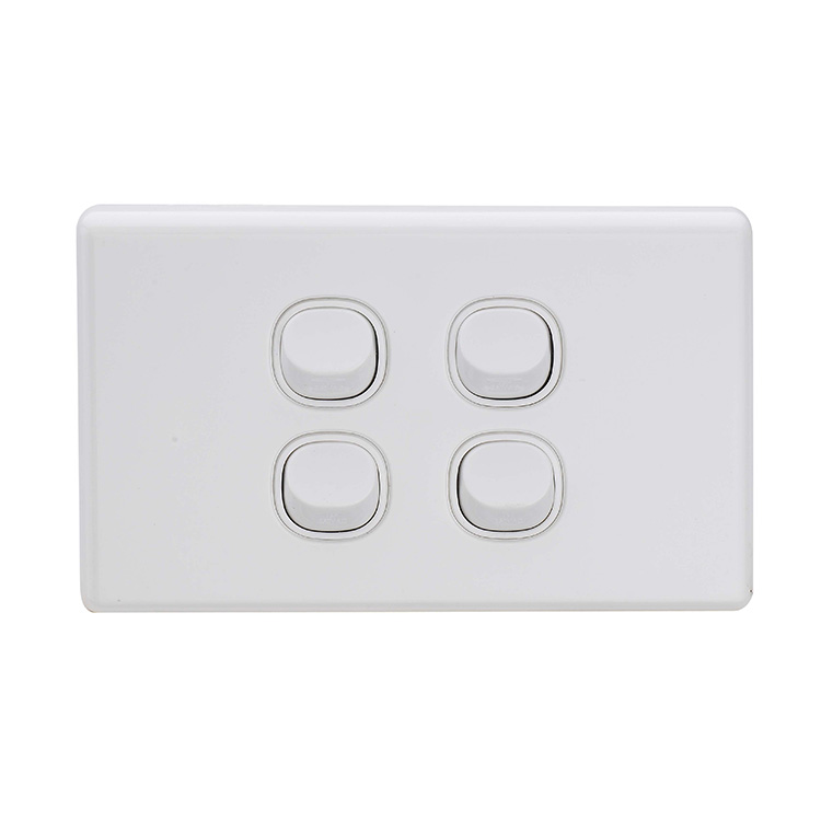 3 Gang 2 Way Light Wall Switch