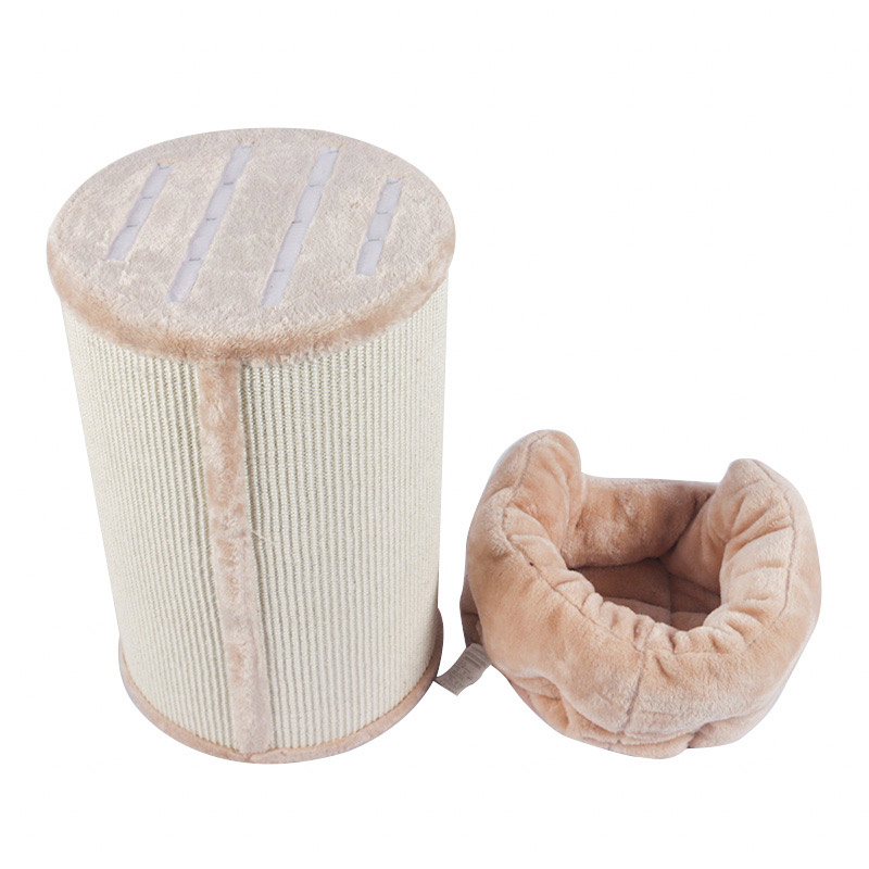 Sisal bucket mailbox cat nest pet product