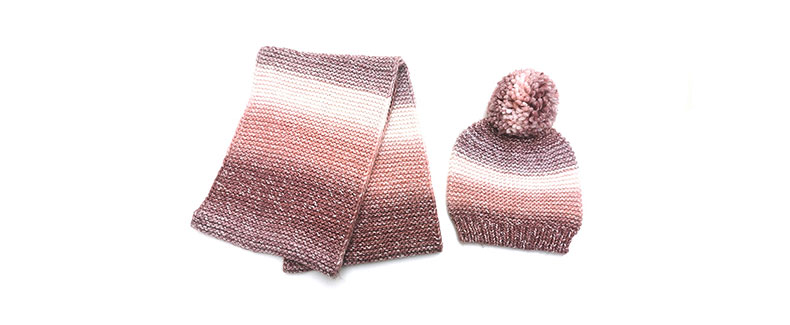 women scarf and hat set