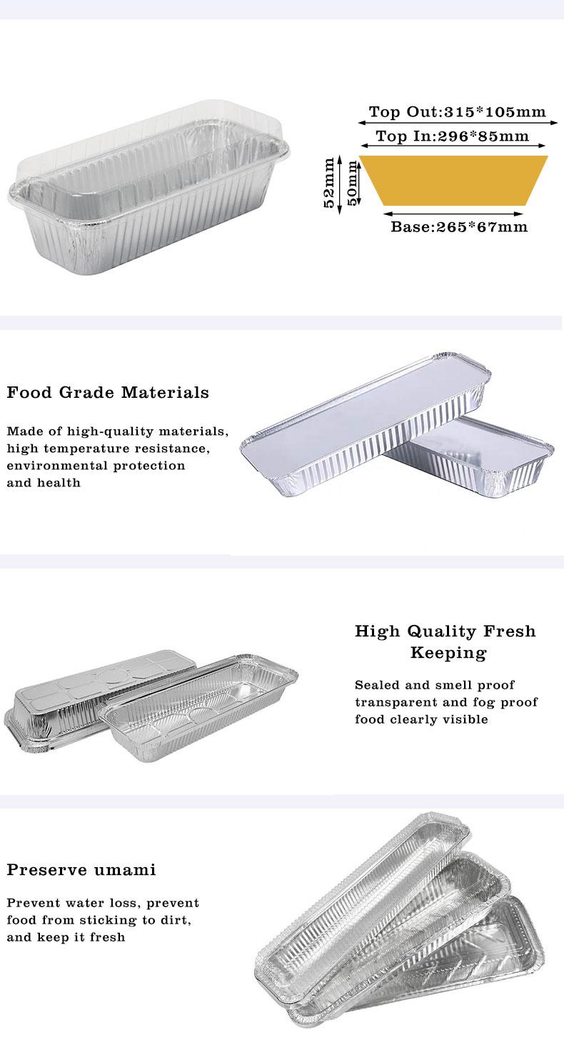 aluminium containers for food