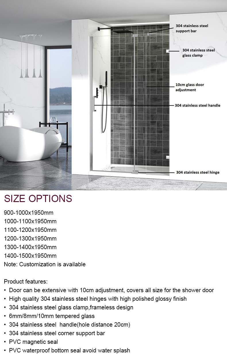 China Pivot Shower Door factory