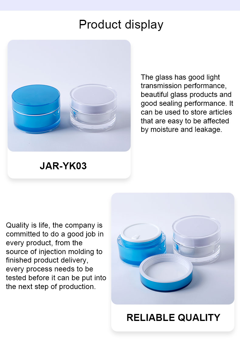 100ml cosmetic jars and bottles