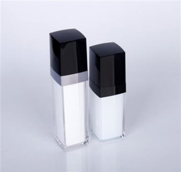 Black family cosmetic bottle
