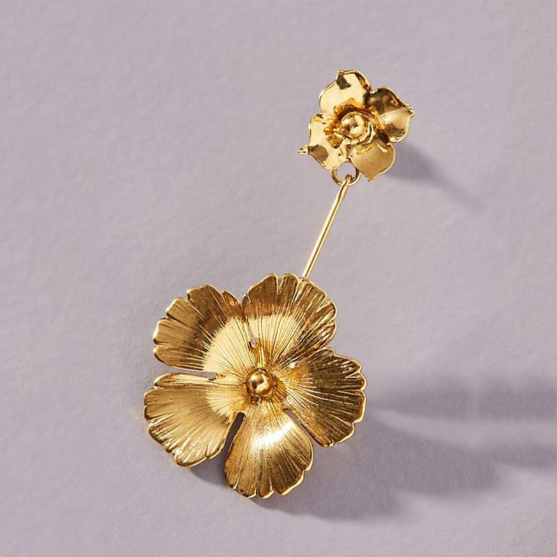 Flowers Dangle Earrings3