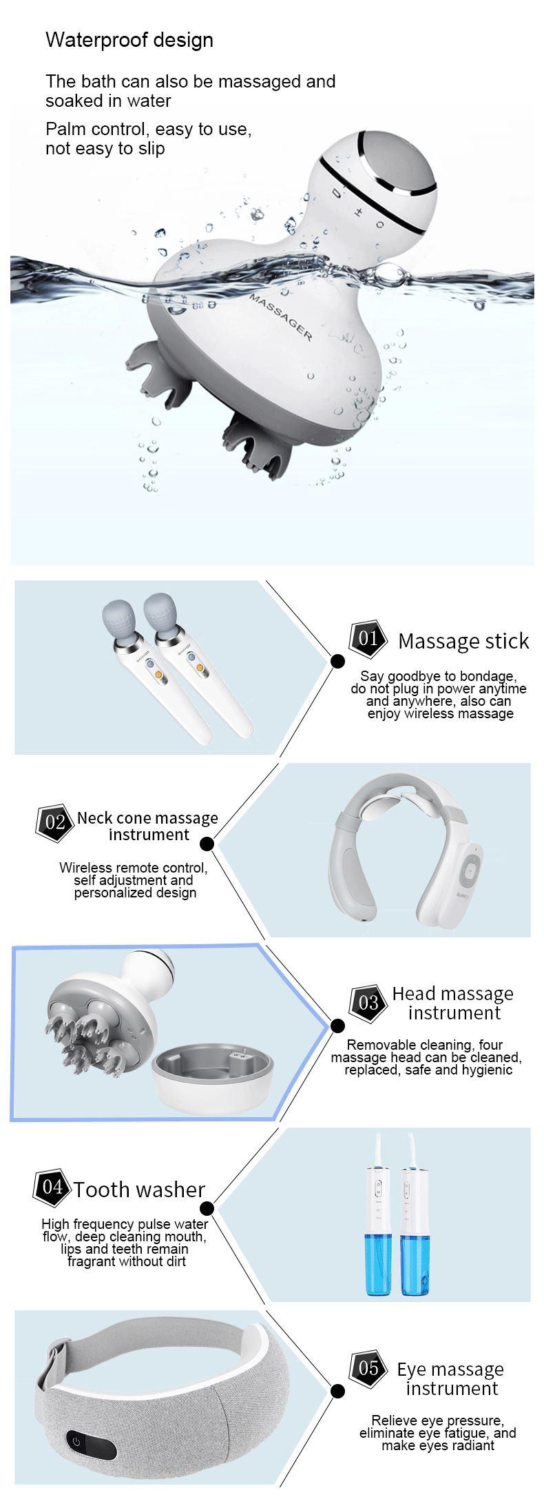 China head massage instrument supplier
