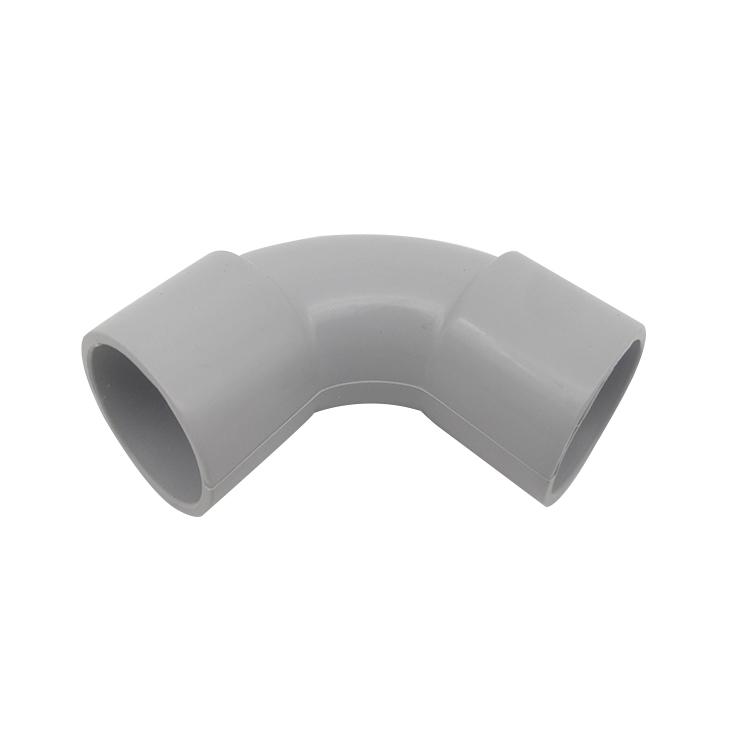 Flexible Conduit Heavy Duty PVC Conduit Pipe Bend Fittings