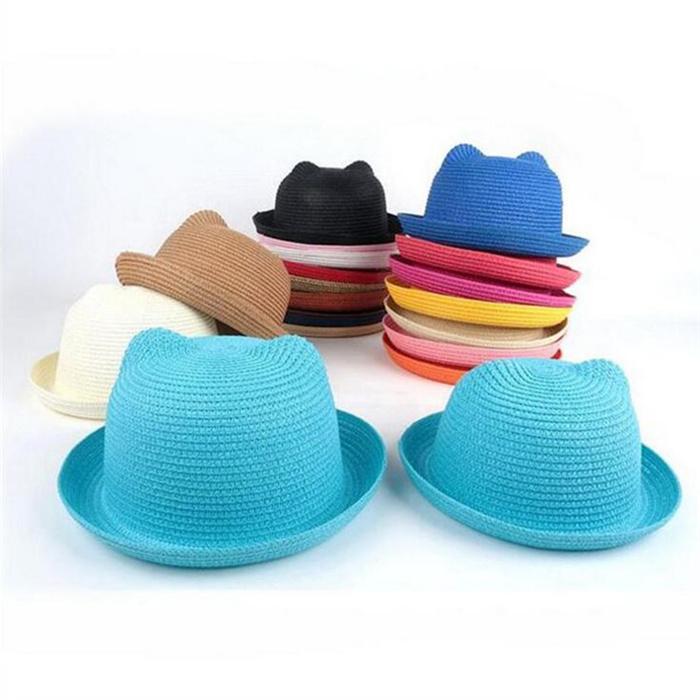 Kids Panama Straw Hats
