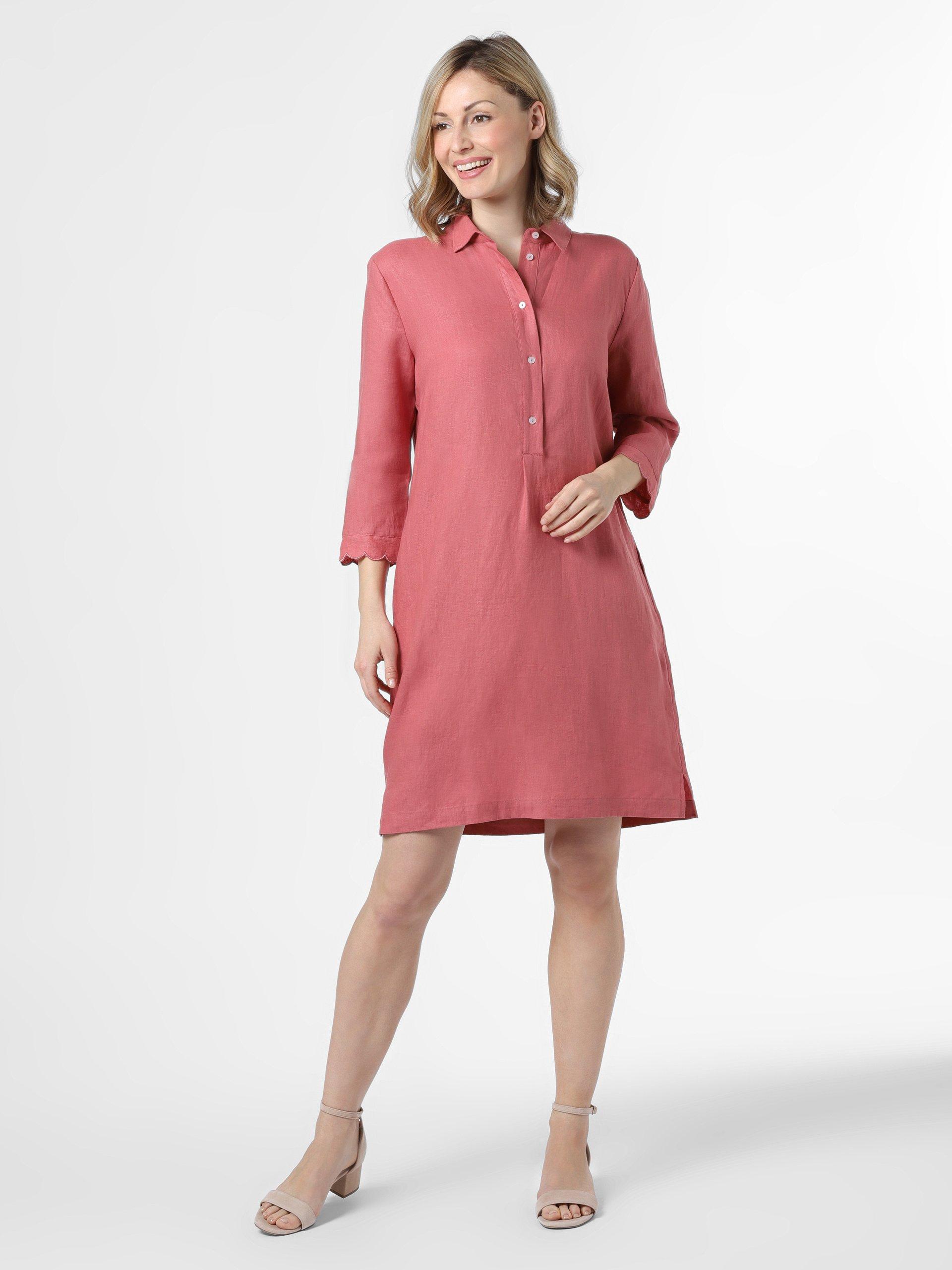 Linen sleeve dress