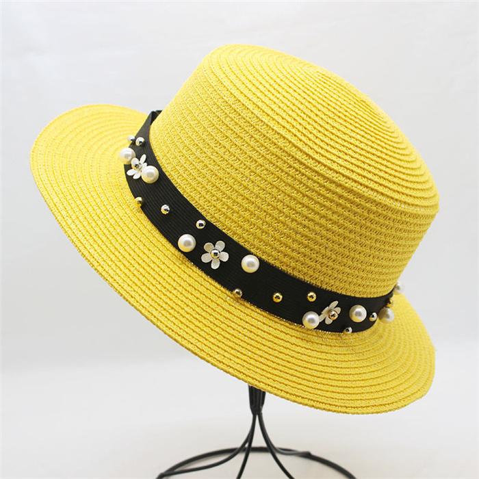 Women Beach CAPS Sun Visor Straw Hats