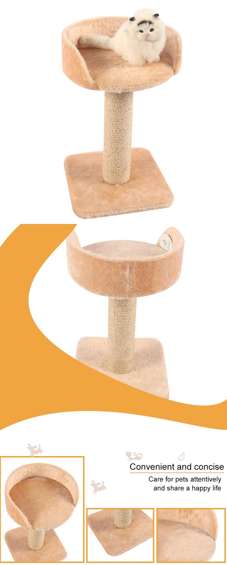 cat climbing frame with platform pet supplies