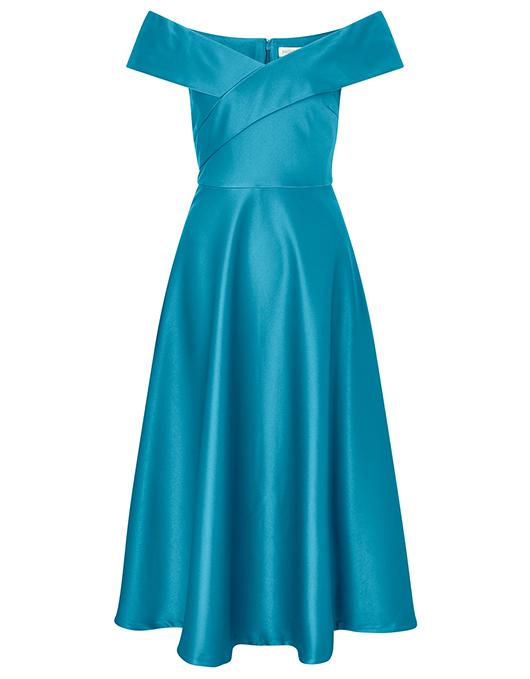 Bisou Fit Midi Dress