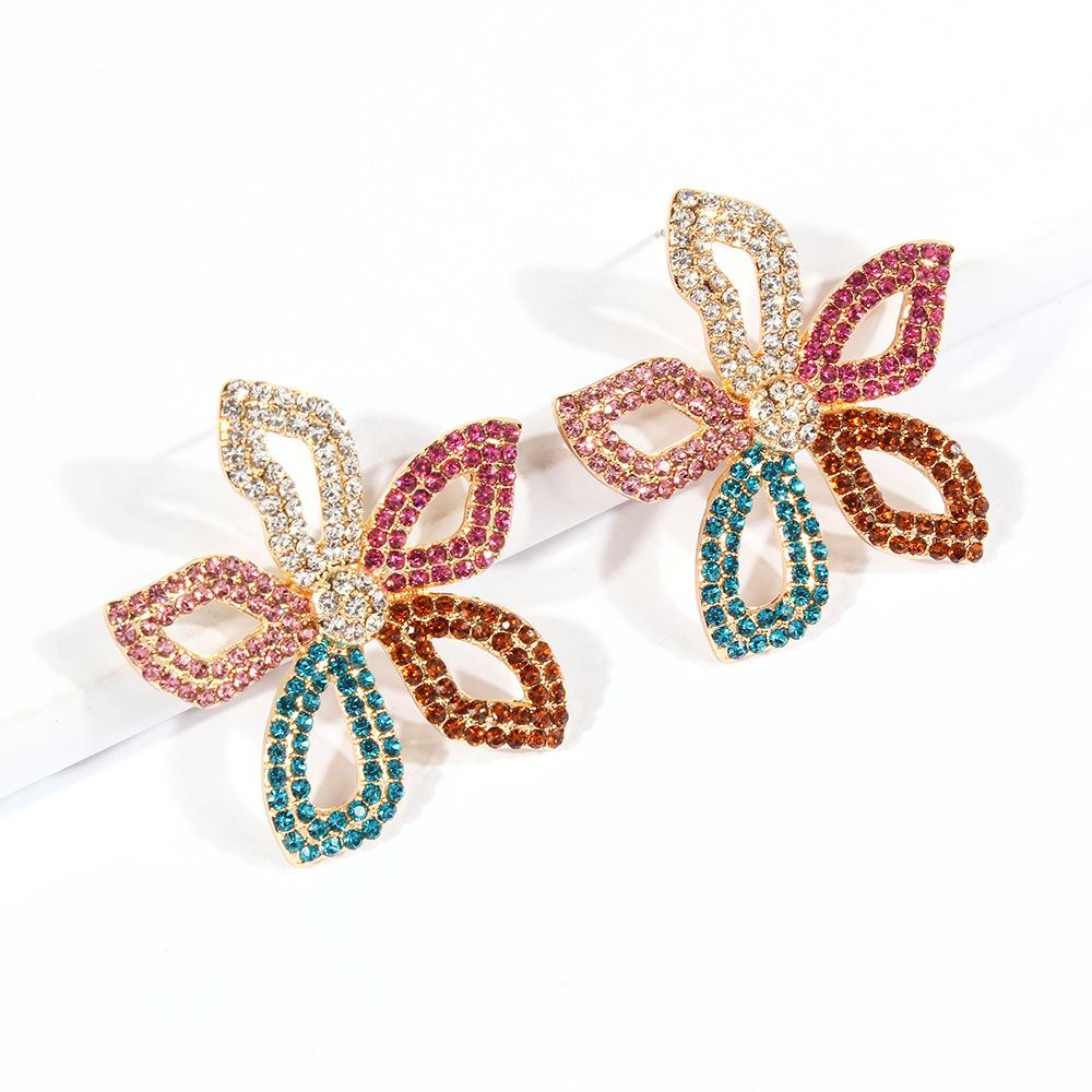 Flower Earrings Stud