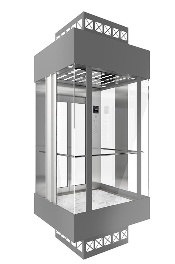 PVC Floor Stable Observation Elevator