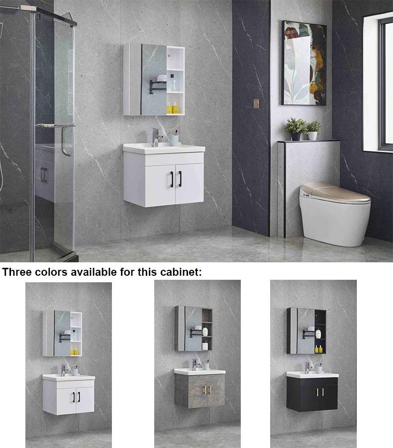 Solid plywood bathroom vanity