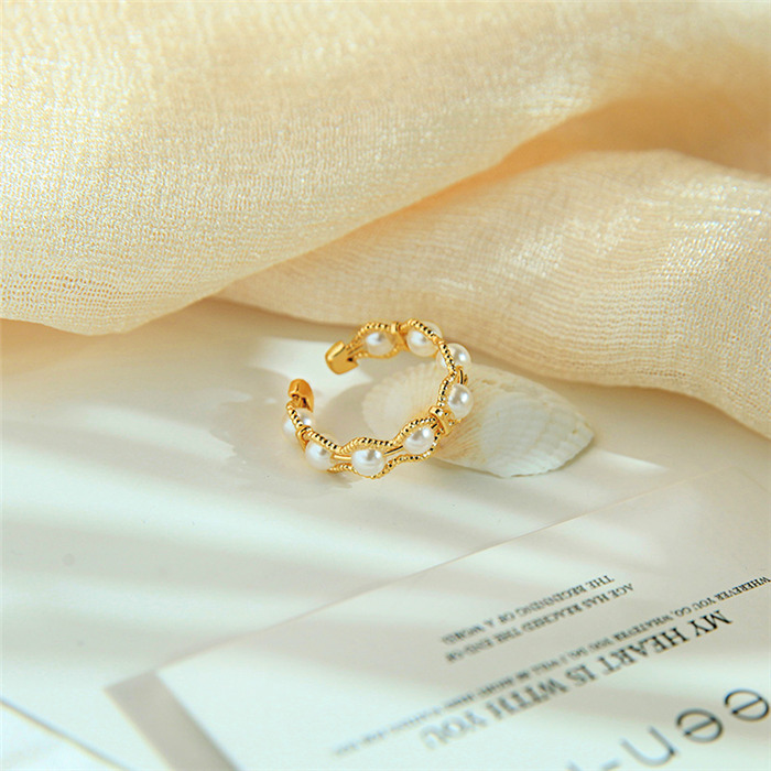 Pearl ring opening