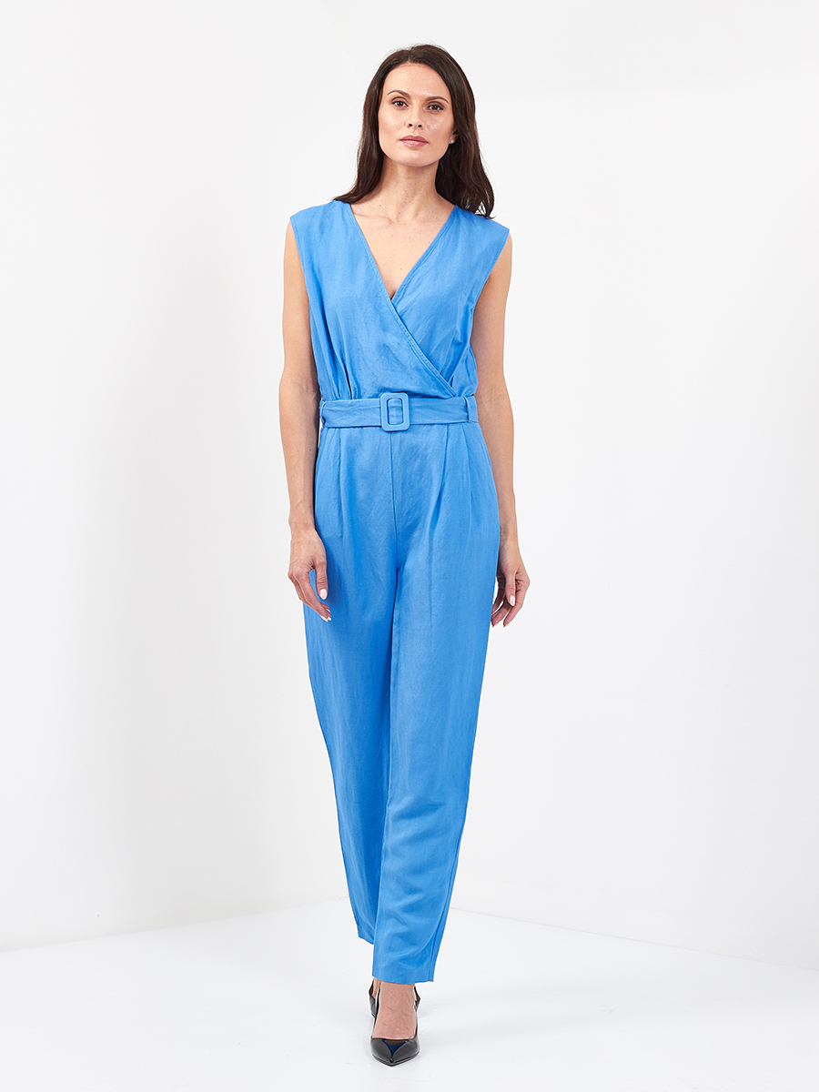 Jane Belt Jumpsuit