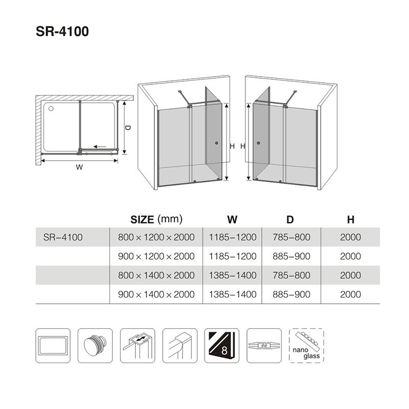 Good outdoor shower enclosure suppliers