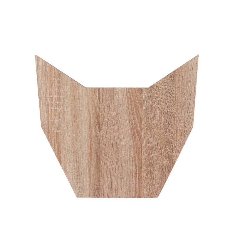 Animal-shaped cat scratching board