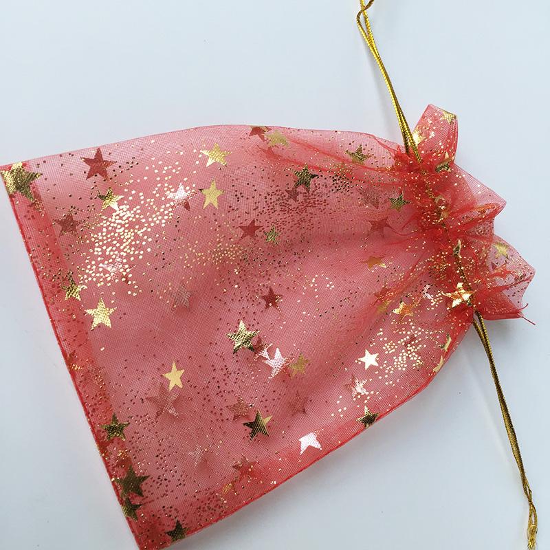 organza drawstring bag