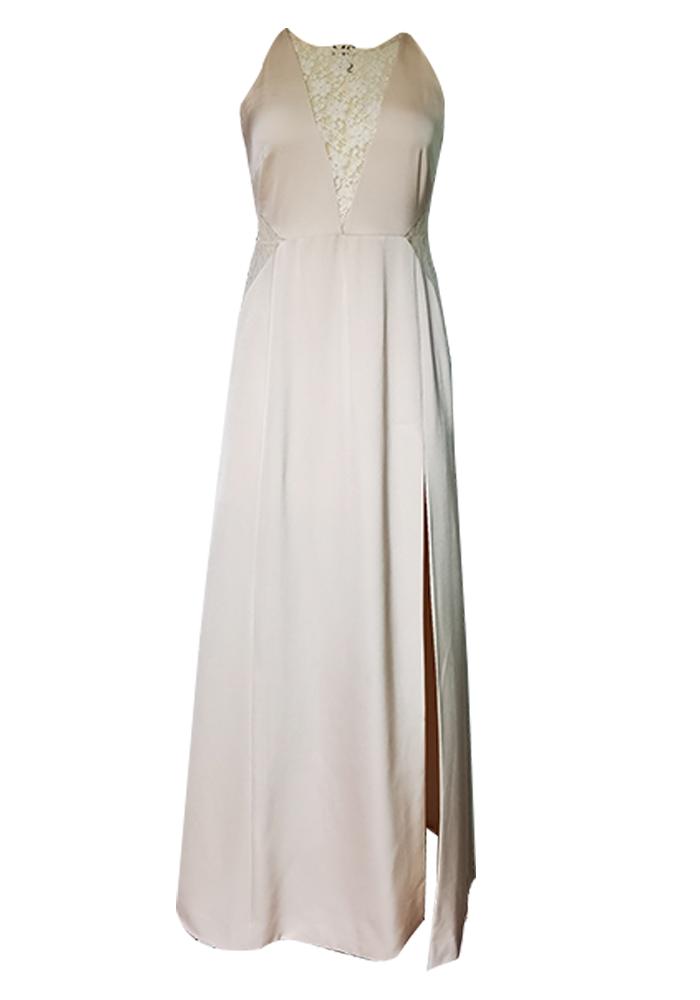 Straps lace Maxi dress