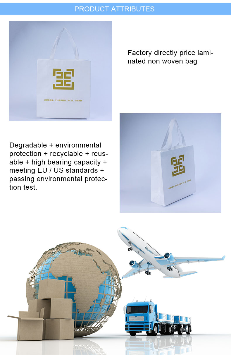 Non woven bags with handles