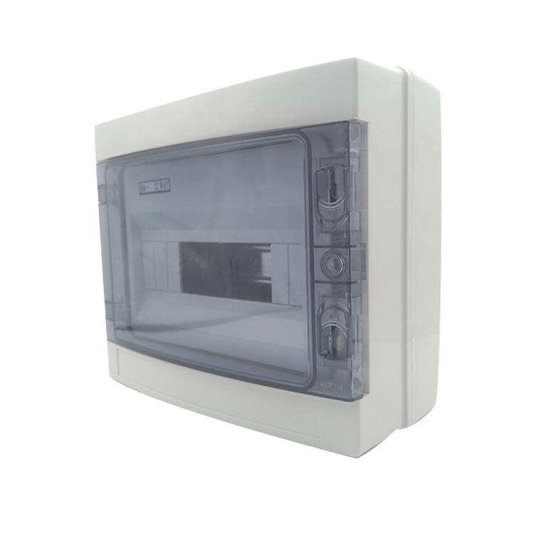 6 way IP65 SAA Waterproof Electrical Plastic Power Distribution Switchboard