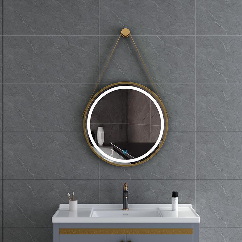 Hanging bathroom LED mirror manufacturers