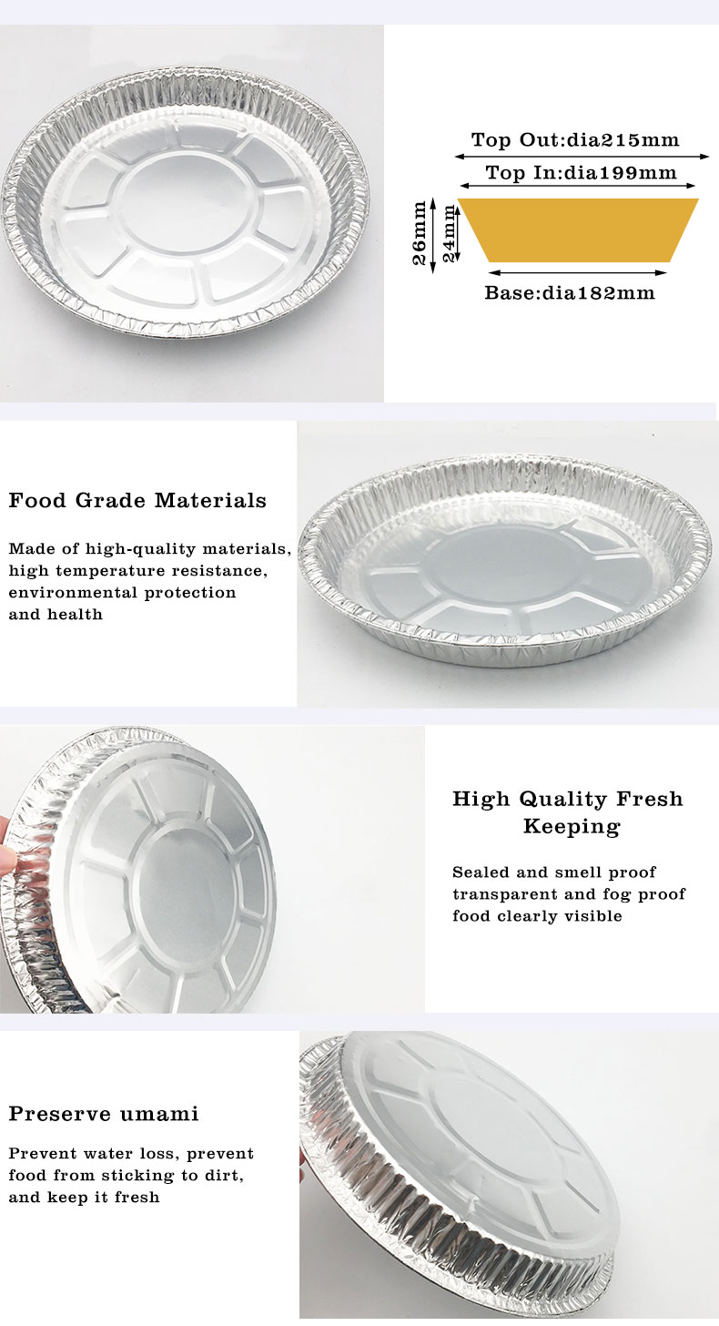 Aluminium Foil Trays With Clear Lids Supplier