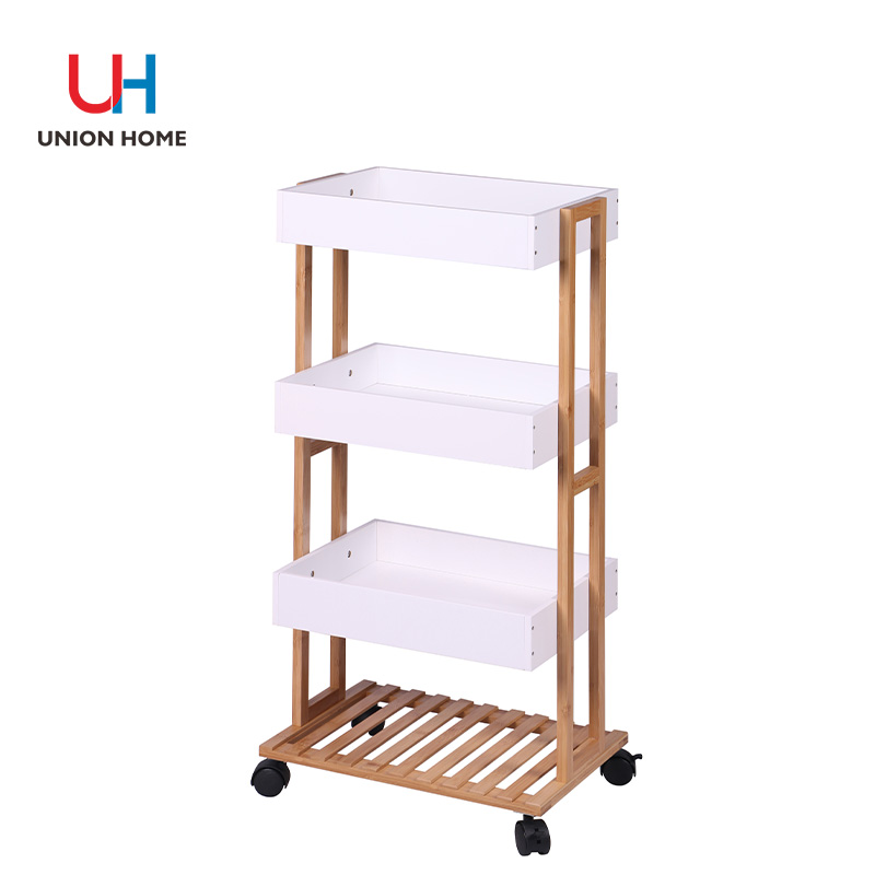 Multi-functional bamboo rack