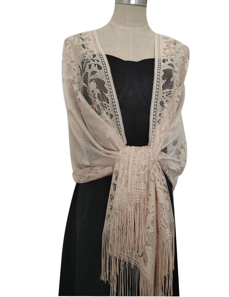 Evening dress shawl