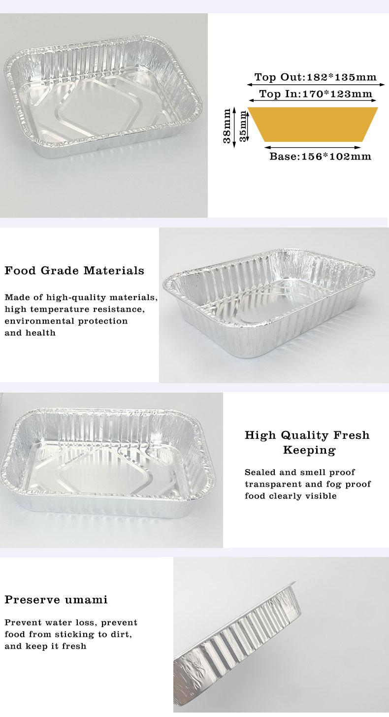 aluminium foil serving trays Supplier