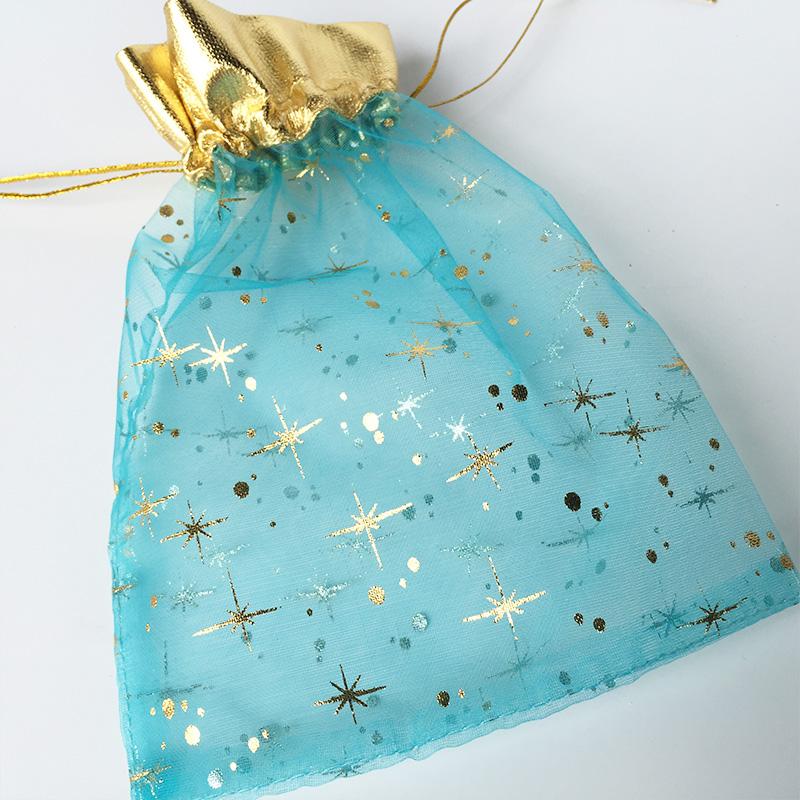 Customized organza fabric bag