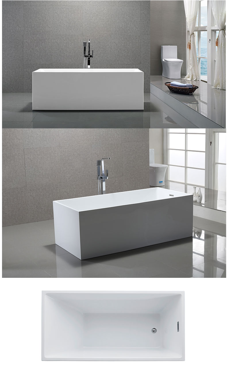 China Luxury tubs in bathroom manufacturers