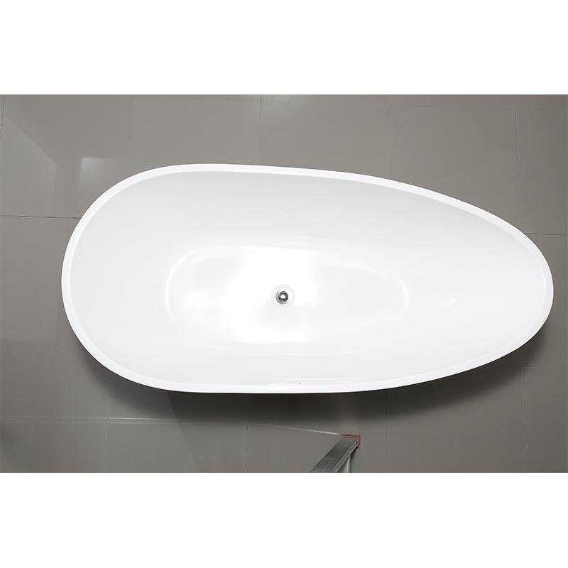 Modern acrylic freestanding bathtub