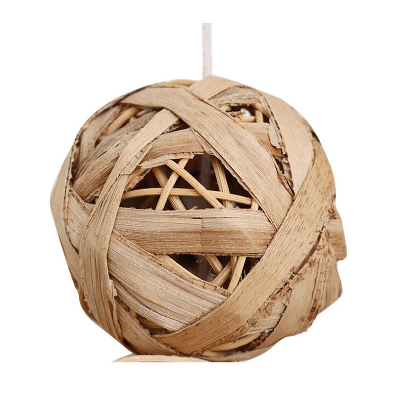 Rattan weaving toys